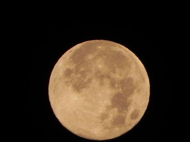 Blue Moon over Caledon