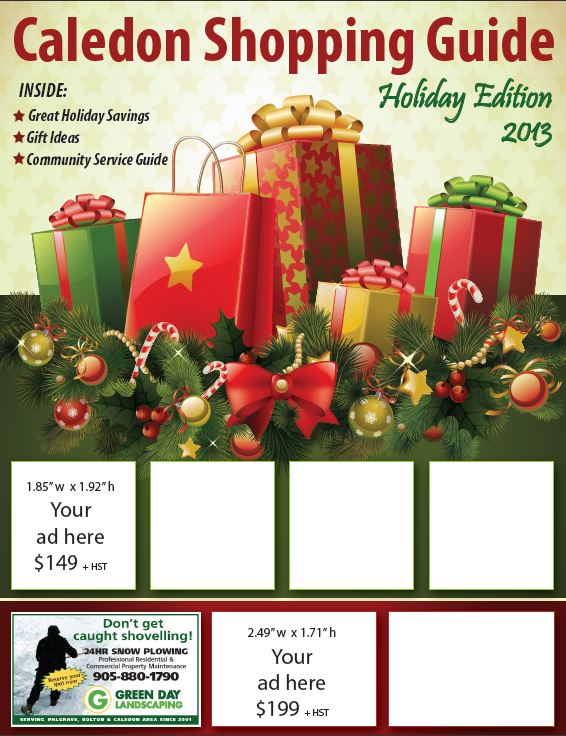 Caledon Shopping Guide Holiday Edition 2013